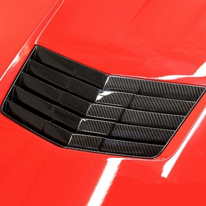 2014, 2015, 2016, 2017 Corvette APR Performance Hood Vent Direct Fit - Carbon Fiber : C7 Stingray, Z51, Grand Sport