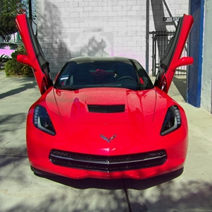 2014, 2015, 2016, 2017 C7 Corvette Stingray Lambo Style Vertical Doors - Door Hinge Conversion Kit