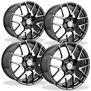 Corvette Wheels - TSW Nurburgring (Set) : Black Chrome