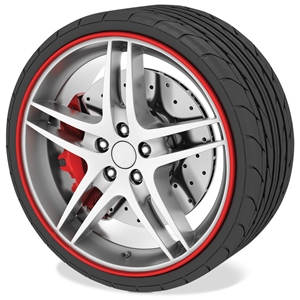 Corvette RimSavers Wheel Rim Protectors and Accent Trim