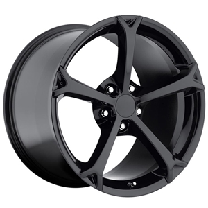Corvette Wheel - 2010 Grand Sport Style Reproduction - Gloss Black : 1997-2013 C5,C6,Z06,Grand Sport