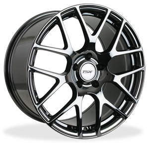 Corvette Wheels - TSW Nurburgring : Black Chrome