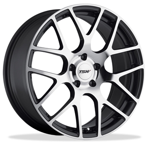 Corvette Wheels - TSW Nurburgring : Gunmetal with Machined Face