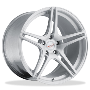 Corvette Custom Wheels WCC 733 Monobloc Forged Series : Silver Brushed 19x10/20x13 2006-2011 Z06,ZR1,Grand Sport
