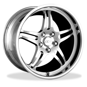 Corvette Wheels Custom - 1-Piece Forged Aluminum : Style 505A
