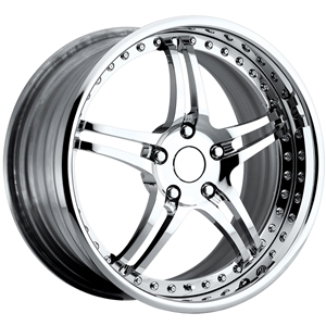 Corvette Custom Wheels - WCC 946 EXT-R Forged Series : Chrome