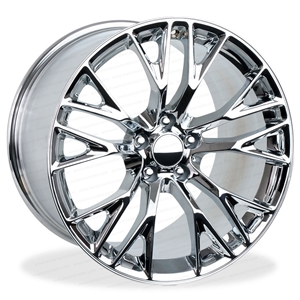 C7 Corvette Z06 Style Reproduction Wheels : Chrome