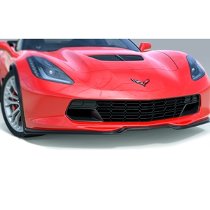 2014, 2015 C7 Corvette - ACS Five 1 Front Spoiler : Stingray & Z06