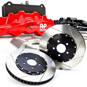 Corvette AP Racing Radi-Cal - Slotted 2 pc. Rotors & Calipers : 2005-2013 C6, Z06, Grand Sport