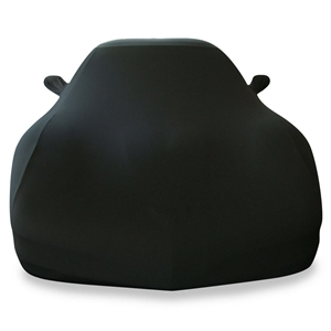 Corvette Ultraguard Stretch Satin Car Cover - Black - Indoor : 1997-2004 C5 & Z06