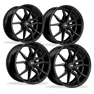 Corvette Wheels - XO Luxury - Verona (Set) : Matte Black