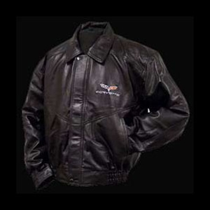 Corvette Jacket - Lamb with C6 Emblem : 2005-2013