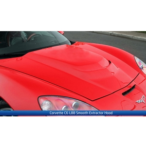 Corvette L88 Hood - ACS Composite : 2005-2013 C6, Z06, Grand Sport, ZR1