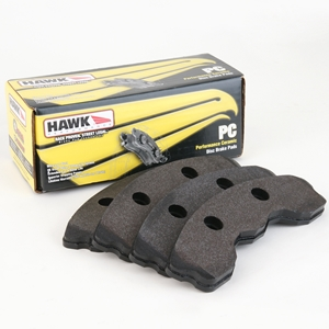 C7 Corvette Brake Pads - Hawk Ceramic - Front : Stingray Z51