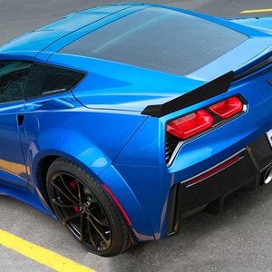 2014, 2015, 2016, 2017 C7 Corvette - ACS GS Rear Wide Body Conversion : Stingray Coupe/Convertible