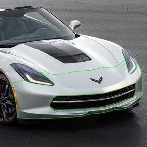 2014 2015 C7 Corvette GM OEM Front Bumper Cover : Stingray, Z51