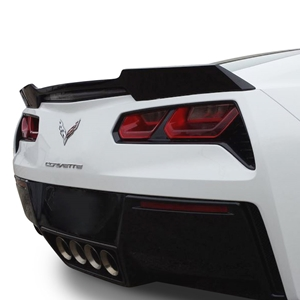 2014, 2015, 2016, 2017 C7 Corvette Rear Spoiler - Wickerbill Inspired - Painted : Stingray
