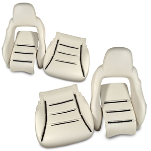Corvette Seat Foam Kit - New Replacement : 2005-2013 C6