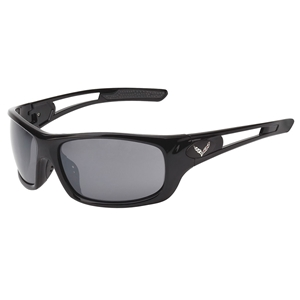 Corvette Full Frame Sunglasses - Gloss Black : C7 Logo