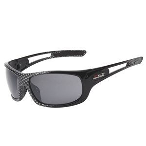Corvette Full Frame Sunglasses - Simulated Carbon Fiber : C7 Z06 Logo