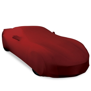 C7 Corvette Stingray, Z51, Z06, Grand Sport, ZR1 Ultraguard Stretch Satin Car Cover - Dark Red - Indoor
