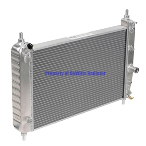 Corvette Direct Fit Short Radiator with EOC/TOC : 2005-2006 C6 Z51