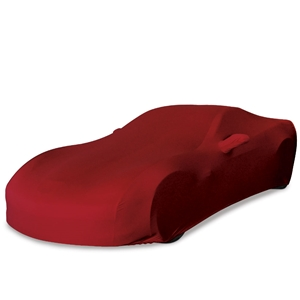 Corvette Ultraguard Stretch Satin Car Cover - Dark Red - Indoor :  2005-2013 C6, Z06, ZR1, Grand Sport
