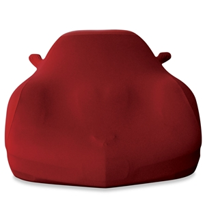 Corvette Ultraguard Stretch Satin Car Cover - Dark Red - Indoor : 1997-2004 C5 & Z06