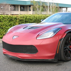 Corvette SpeedLingerie Super Bra - Nose Cover - Stage 1 w/out Grille Camera : C7 Grand Sport 2017