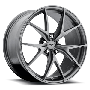 C5, C6 & C7 Corvette Custom Wheels - Niche Misano - Gunmetal Finish, 18, 19 & 20 inch wheels available.