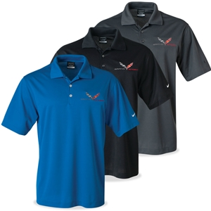 2016, 2017, C7 Grand Sport Corvette - Men's Nike Dri-Fit Polo