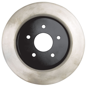 Corvette Brake Rotor Hub Covers - Black (Set) : 2005-2013 C6 Non-Z51