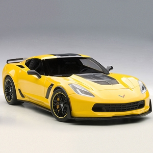 2015, 2016, 2017, C7 Corvette Z06 C7R Edition Diecast 1:18 - Corvette Racing Yellow