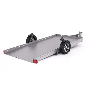 Futura Trailers Single Axle Trailer for small to medium sized vehicle