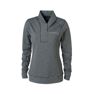 Ladies C7 Corvette Stingray Shoreline Half-Zip Sweater