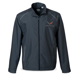 2014, 2015, 2016, 2017, C7 Corvette Weathertec Jacket : Onyx