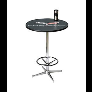 Corvette Pub Table with C6 Logo
