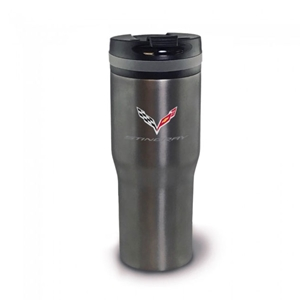 C7 Corvette Arctix Insulated Tumbler with Titanium Finish