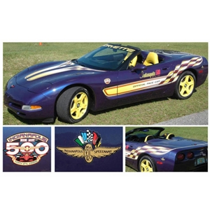 Corvette Phoenix Graphix Decal Kit - 17 pc. : 1998 C5 Pace Car