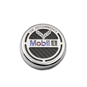 2014, 2015, 2016, 2017 C7 Corvette Stingray, Z51, Z06, Grand Sport Commemorative GM Recommends Mobil 1 Oil Cap Cover