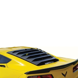 C7 Corvette Stingray, Z51, Z06, Grand Sport MRT Aluminum Rear Window Louvers