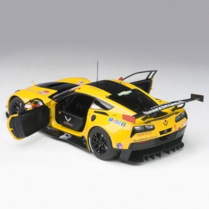 2015, 2016, 2017, C7 Corvette C7 Corvette C7.r Lime Rock 2016 2nd Place Antonio Garcia/Jan Magnussen #3 - Die Cast 1:18