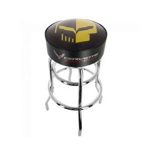 2014, 2015, 2016, 2017, 2018 C7 Corvette Racing Yellow Jake Counter/Pub Stool