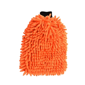 Liquid X Orange Premium Microfiber Wash Mitt - Extra Large