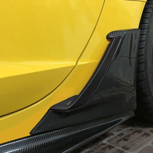 C7 Corvette Z06 Style Carbon Fiber Brake Scoop : C7 Stingray, Z51
