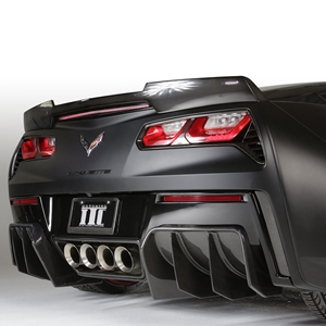 C7 Corvette Stingray, Z51 Ivan Tampi Customs XIK Rear Deck Wing - Carbon Fiber