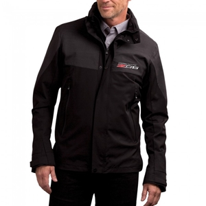 C7 Corvette Z06 Stealth Reflective Jacket - Black