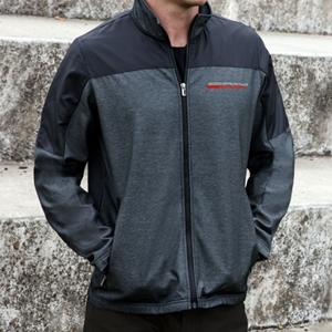 C7 Corvette Grand Sport Outlook Jacket - Charcoal/Black.