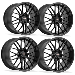 Corvette Wheels - Cray Eagle (Set) : Matte Black