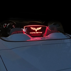 2005-13 C6, Z06, Grand Sport, ZR1 Corvette Convertible WindRestrictor® Illuminated Windscreen